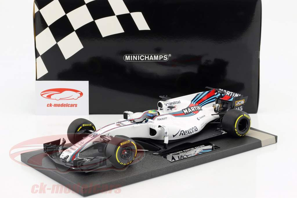 Felipe Massa Williams FW40 #19 australiano GP formula 1 2017 1:18 Minichamps