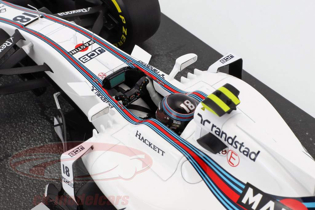 Lance Stroll Williams FW40 #18 australiano GP formula 1 2017 1:18 Minichamps