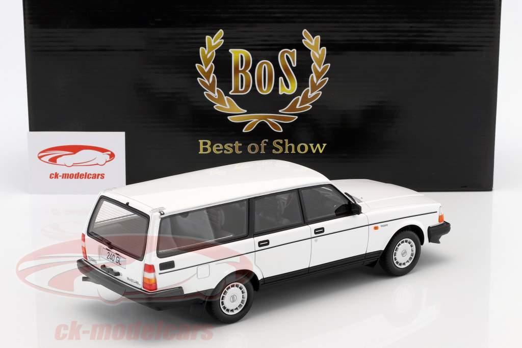 Volvo 240 GL  year 1989 white 1:18 BoS-Models