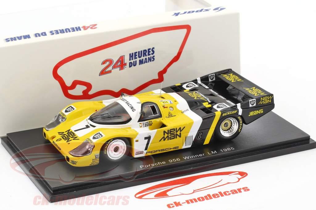Porsche 956 B #7 gagnant 24h LeMans 1985 Ludwig, Barilla, Winter 1:43 Spark