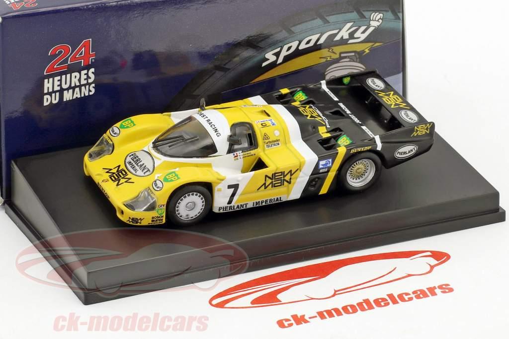 Porsche 956 B #7 Winner 24h LeMans 1984 Pescarolo, Ludwig 1:64 Spark
