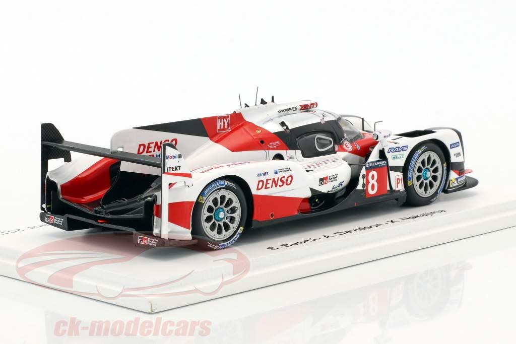 Toyota TS050 Hybrid #8 8th 24h LeMans 2017 Buemi, Davidson, Nakajima 1:43 Spark