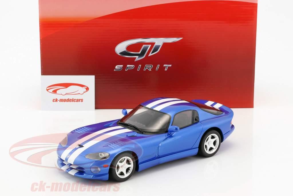 Dodge Viper GTS Baujahr 1996 viper blau 1:18 GT-Spirit
