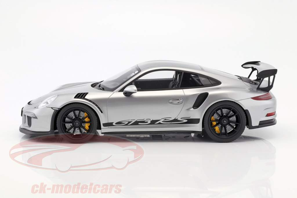 Porsche 911 (991) GT3 RS Construction year 2015 silver 1:12 GT-Spirit