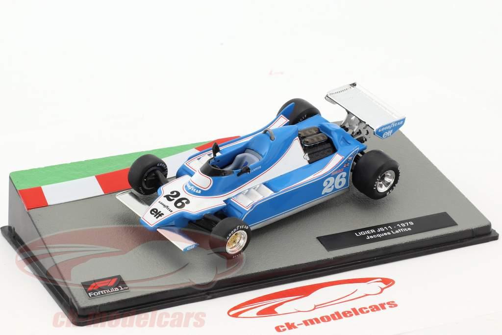 Jacques Laffite Ligier JS11 #26 formule 1 1979 1:43 Altaya