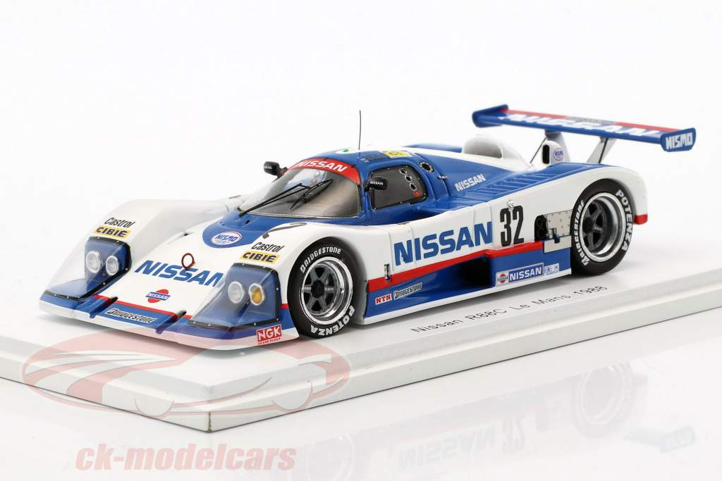 Nissan R88C #32 24h LeMans 1988 Grice, Wilds, Percy 1:43 Spark