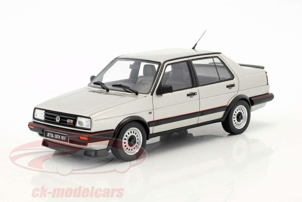 Volkswagen VW Jetta GTX 16V year 1987 diamond silver 1:18 OttOmobile