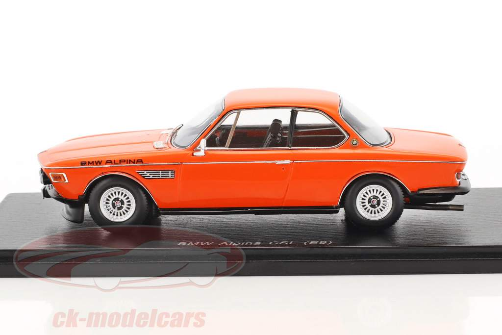 BMW Alpina CSL (E9) orange 1:43 Spark