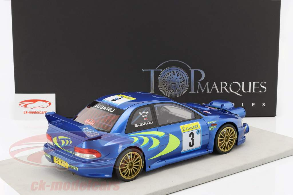 Subaru Impreza S4 WRC #3 3 Rallye Monte Carlo 1998 McRae, Grist 1:12 TopMarques