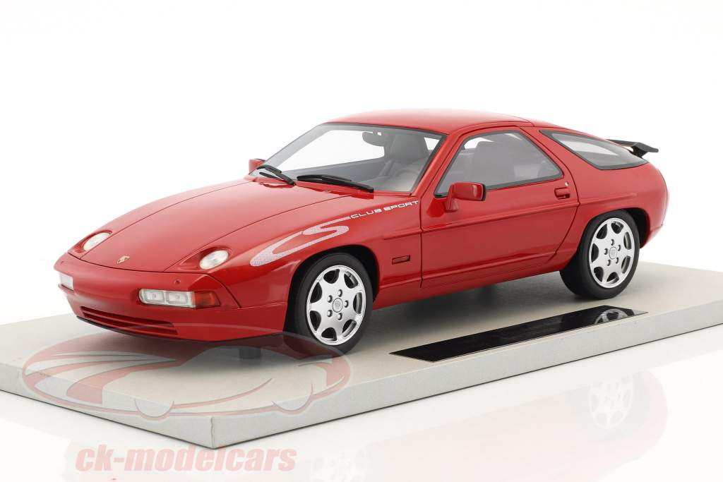 Porsche 928 S4 Club Sport year 1988 red 1:18 LS Collectibles