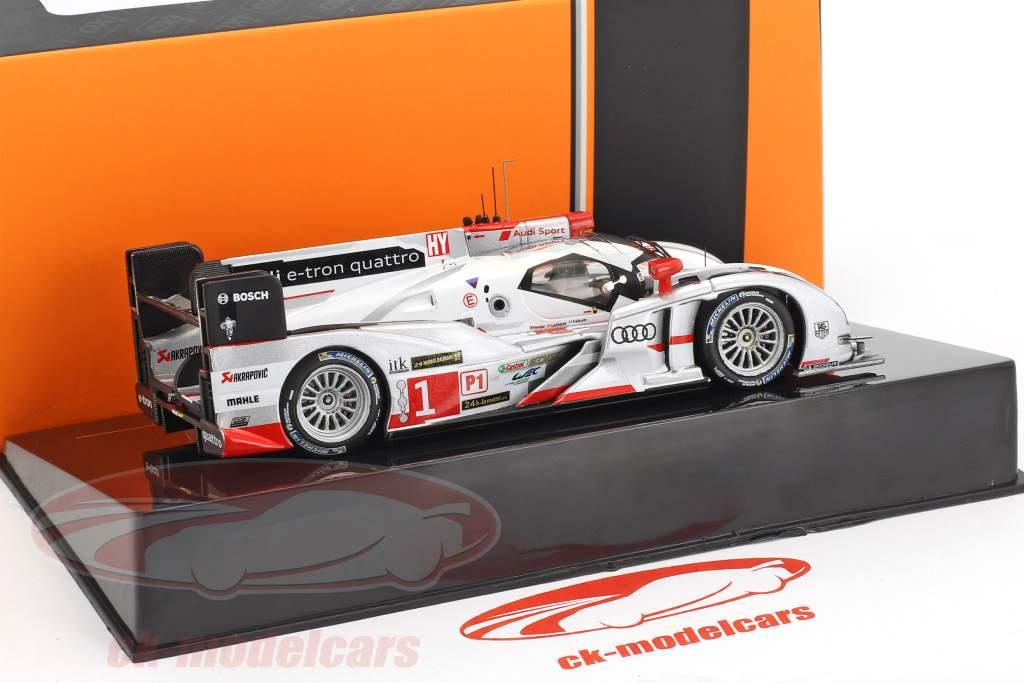 Audi R18 e-tron quattro #1 5 24h LeMans 2013 Lotterer, Tréluyer, Fässler 1:43 Ixo