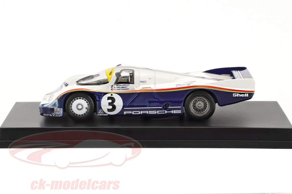 Porsche 956 #3 gagnant 24h LeMans 1983 Schuppan, Holbert, Haywood 1:64 Spark