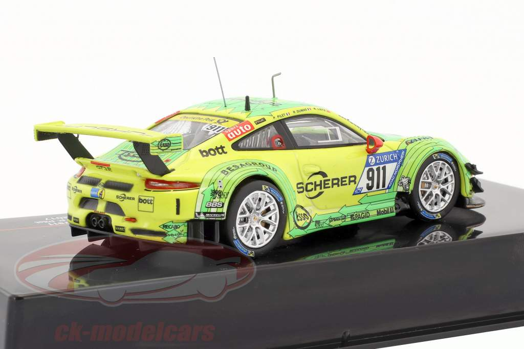 Porsche 911 GT3 R #911 24h Nürburgring 2017 Manthey Racing 1:43 Ixo