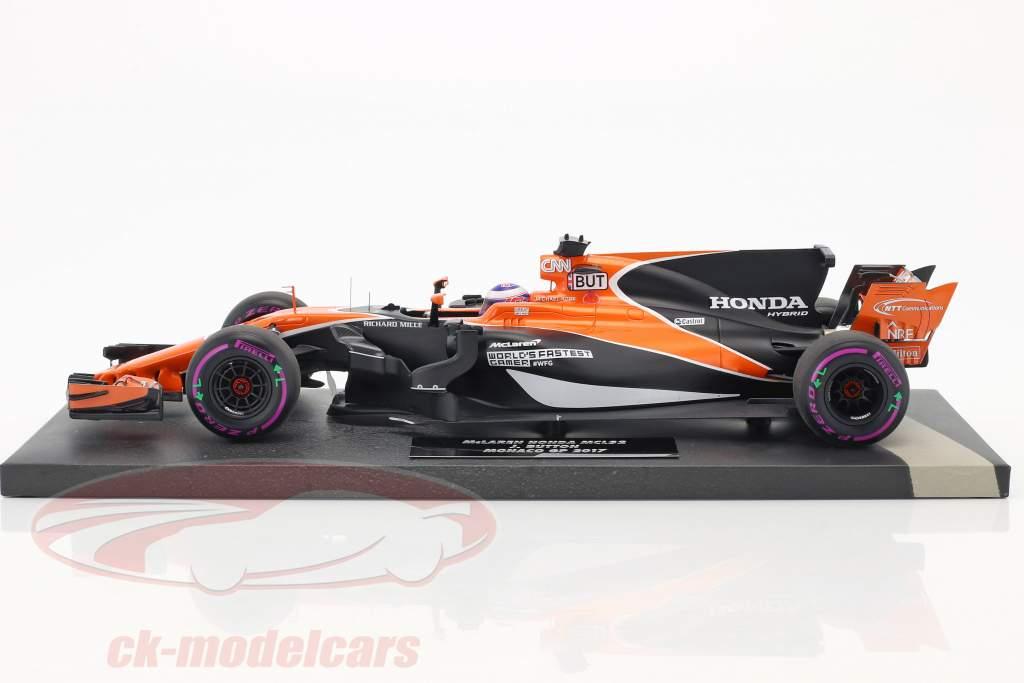 Jenson Button McLaren MCL32 #22 monaco GP formula 1 2017 1:18 Minichamps