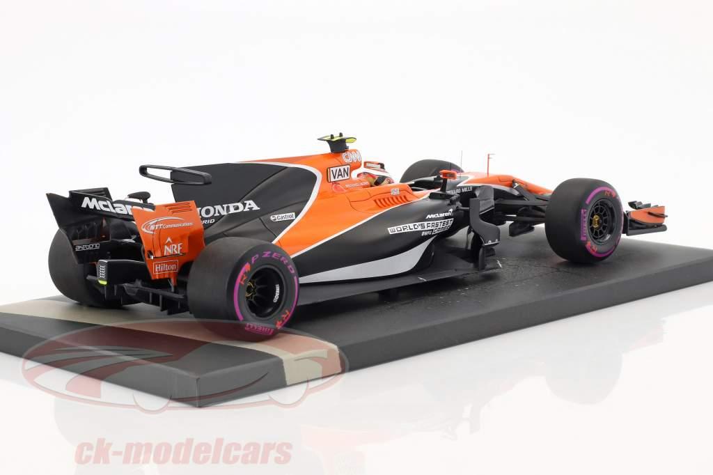 Stoffel Vandoorne McLaren MCL32 #2 Monaco GP formule 1 2017 1:18 Minichamps
