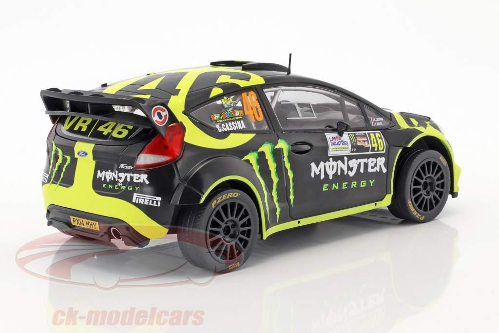 Ford Fiesta RS WRC #46 2nd Monza Rallye Show 2014 Rossi, Cassina 1:18 Ixo