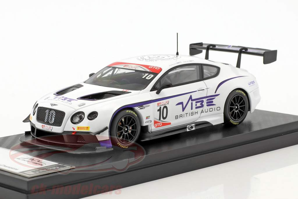 Bentley Continental GT3 #10 GT Cup Series Champion 2016 Jordan Witt Racing 1:43 Almost Real
