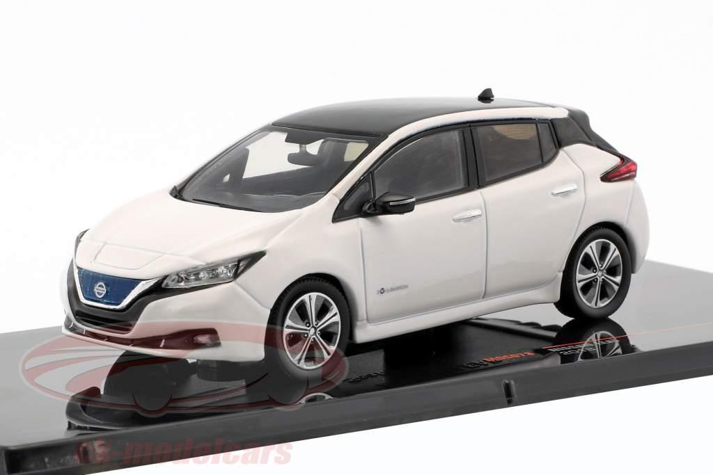 Nissan Leaf anno di costruzione 2018 bianco 1:43 Ixo