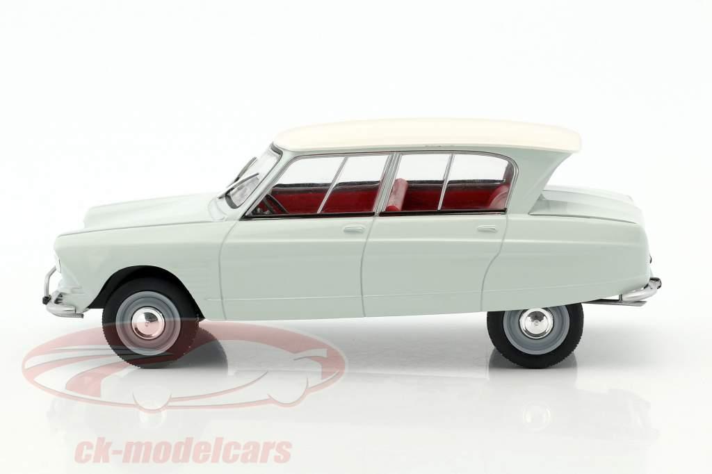 Citroen AMI 6 année de construction 1961 brillant vert / blanc 1:24 WhiteBox