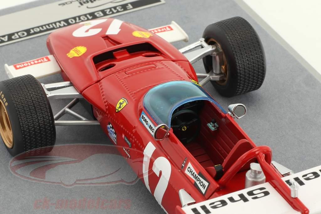 Jacky Ickx Ferrari 312B #12 Winner Austrian GP formula 1 1970 1:18 Tecnomodel
