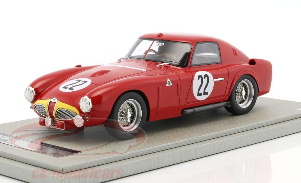 Alfa Romeo 6C 3000 CM #22 24h LeMans 1953 Fangio, Marimon 1:18 Tecnomodel