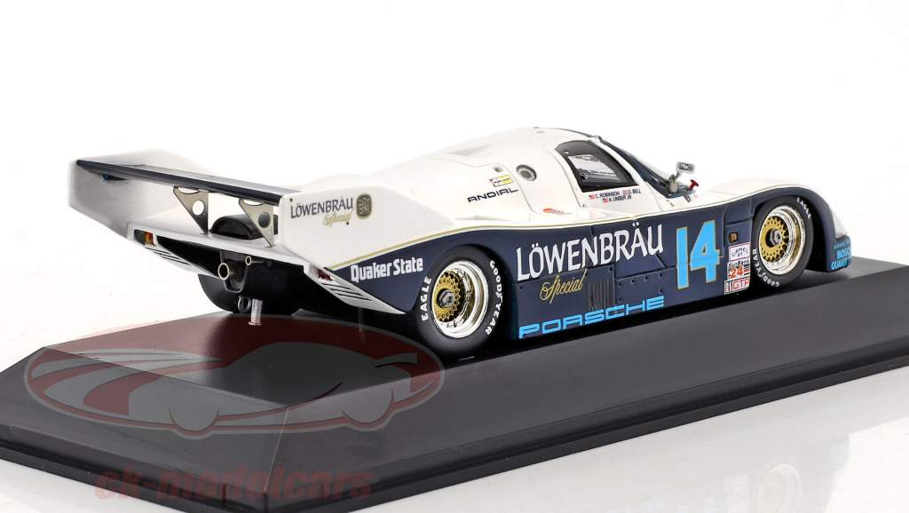 Porsche 962 #14 gagnant 24h Daytona 1987 Holbert Racing 1:43 Spark