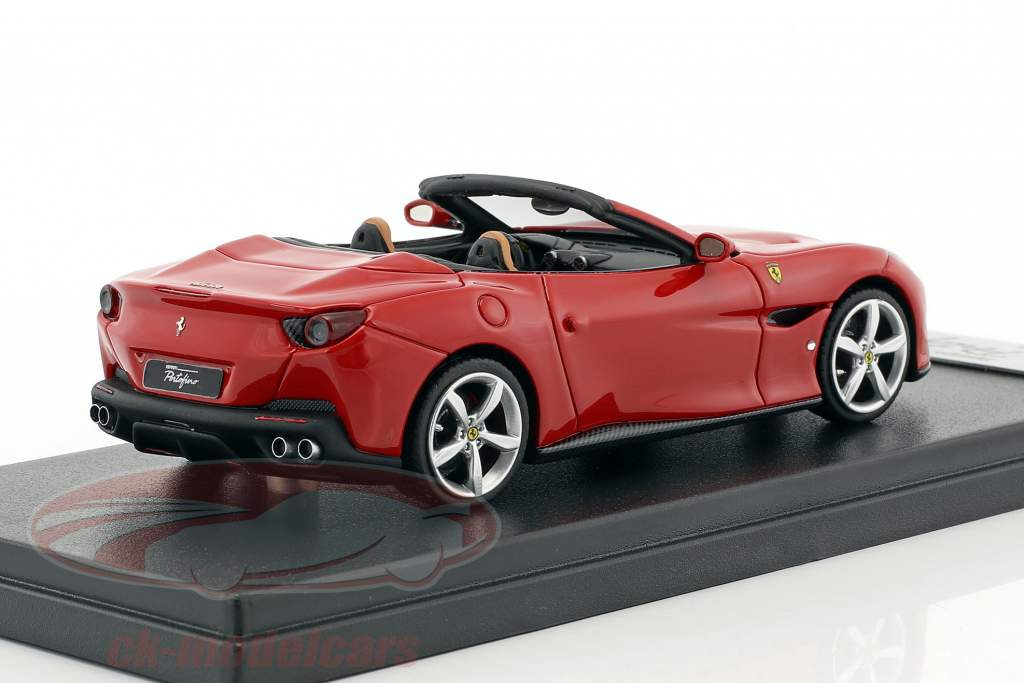 Ferrari Portofino Open Top year 2017 corsa red 1:43 LookSmart