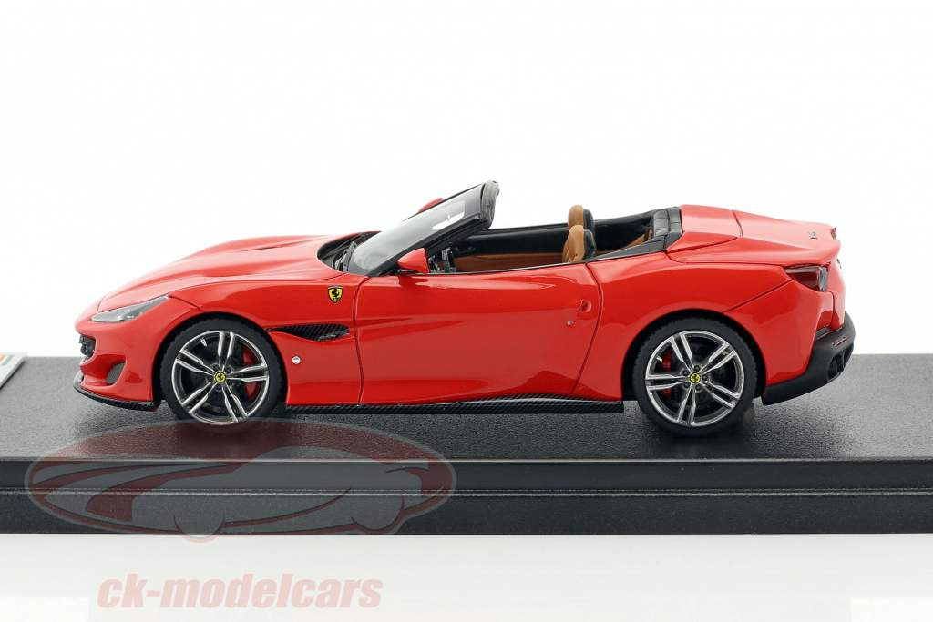 Ferrari Portofino Open Top year 2017 scuderia red 1:43 LookSmart