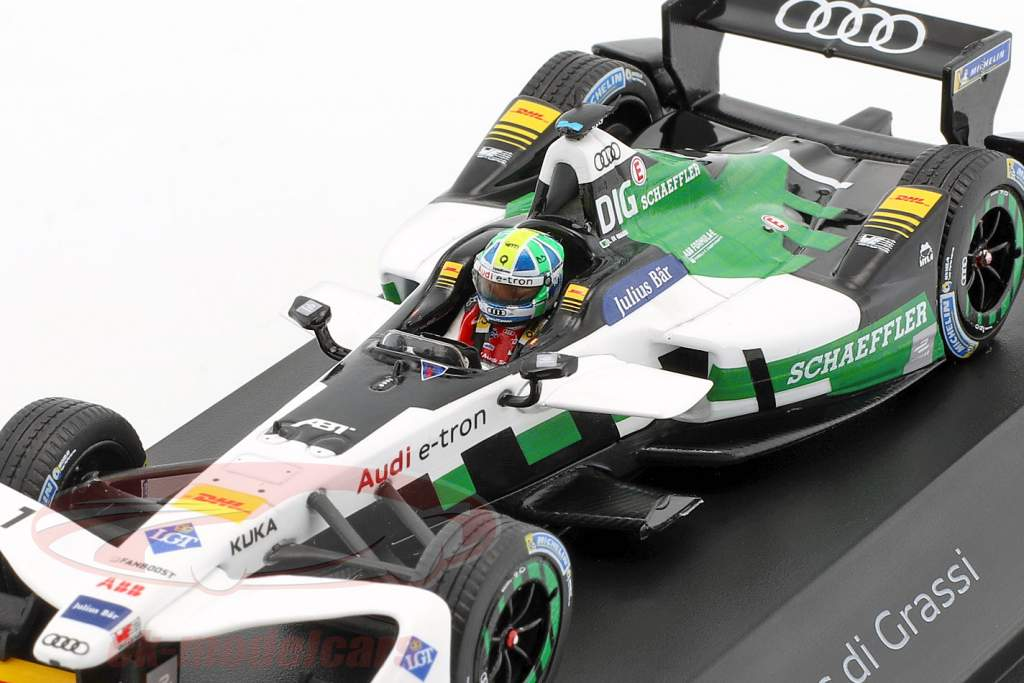 Lucas di Grassi Audi e-tron FE04 #1 Formel E 2017/2018 1:43 Spark