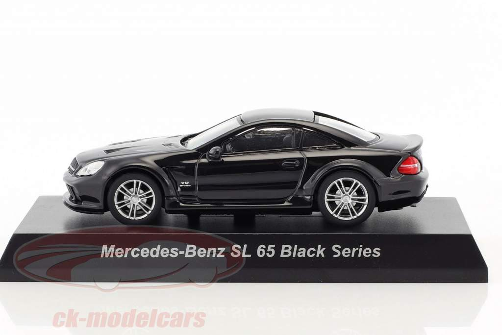 Mercedes-Benz SL 65 Black Series nero 1:64 Kyosho