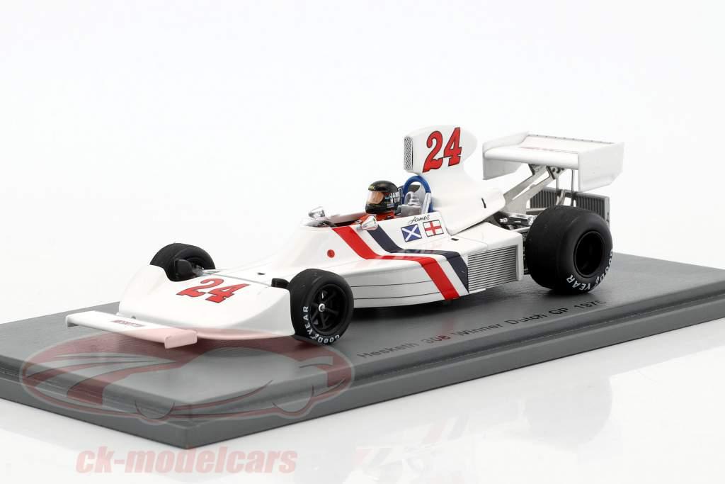 James Hunt Hesketh 308 #24 Sieger Niederlande GP Formel 1 1975 1:43 Spark