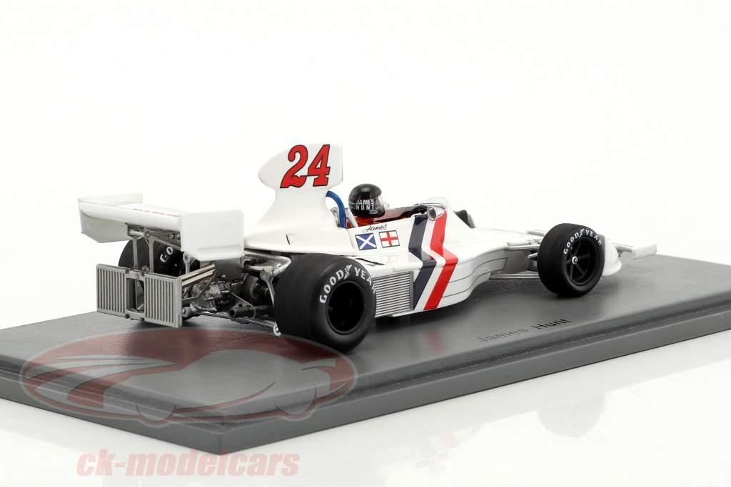 James Hunt Hesketh 308 #24 winner Dutch GP formula 1 1975 1:43 Spark