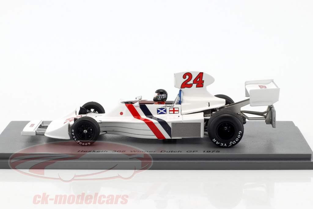 James Hunt Hesketh 308 #24 vincitore olandese GP formula 1 1975 1:43 Spark