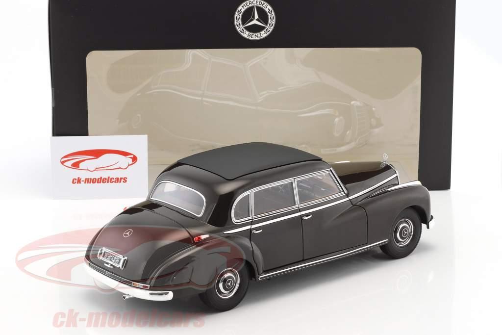 Mercedes-Benz 300 (W186) year 1954 tobacco brown 1:18 Norev