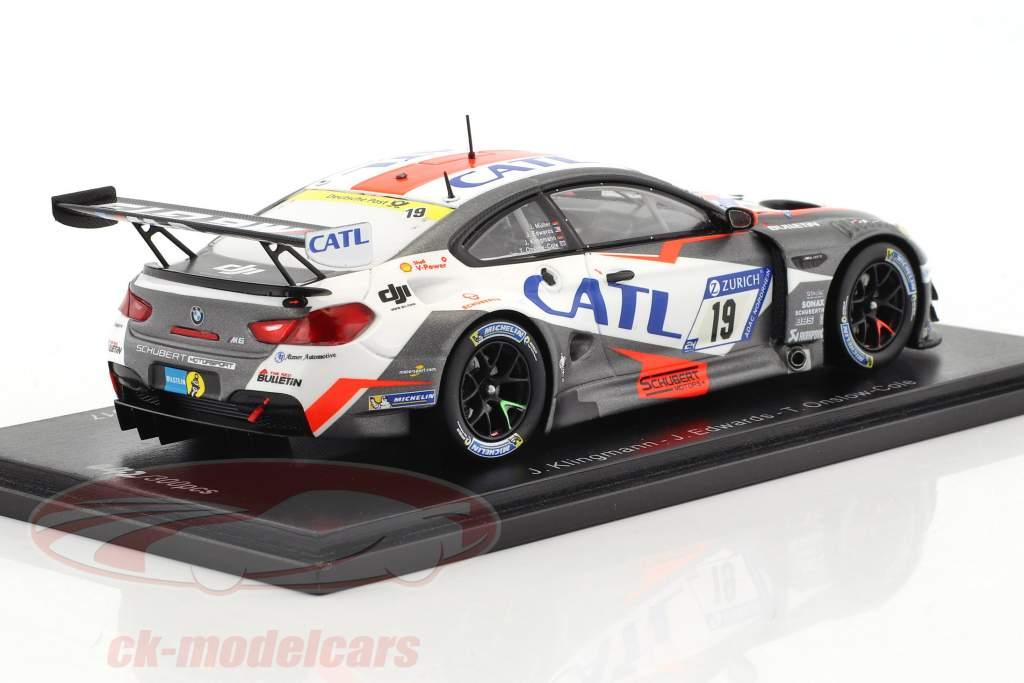 BMW M6 GT3 #19 24h Nürburgring 2017 Schubert Motorsport 1:43 Spark