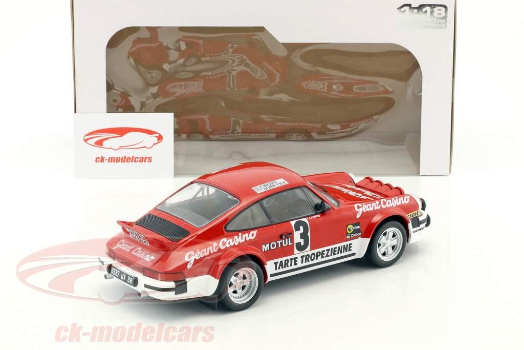 Porsche 911 SC Gr.4 #3 Winner Rallye D'Armor 1979 Beguin, Lenne 1:18 Solido