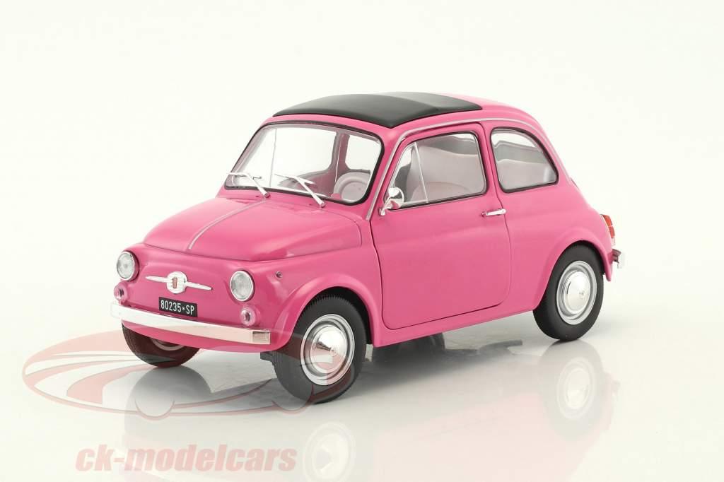 Fiat 500 L Italia anno di costruzione 1969 rosa 1:18 Solido
