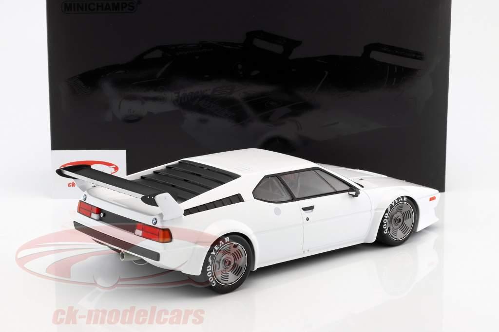 BMW M1 Procar year 1979 white 1:12 Minichamps
