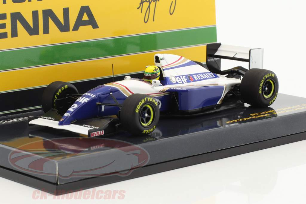Ayrton Senna Williams FW16 #2 Brasile GP formula 1 1994 1:43 Minichamps