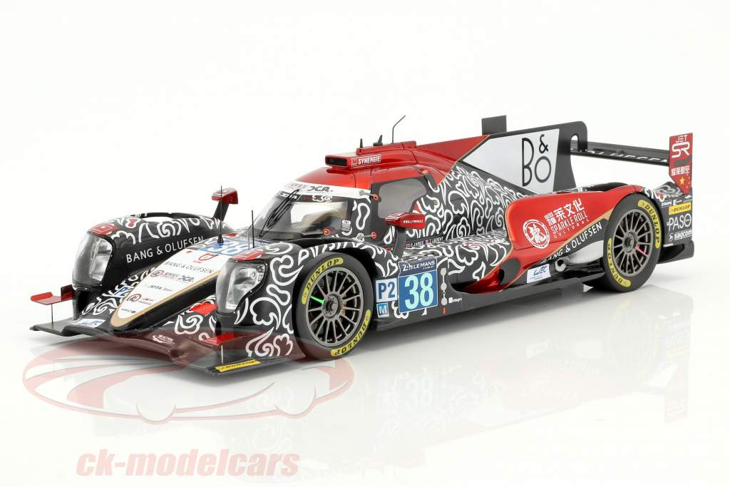 Oreca 07 #38 Winner LMP2 Class 2nd 24h LeMans 2017 Tung, Laurent, Jarvis 1:18 Spark
