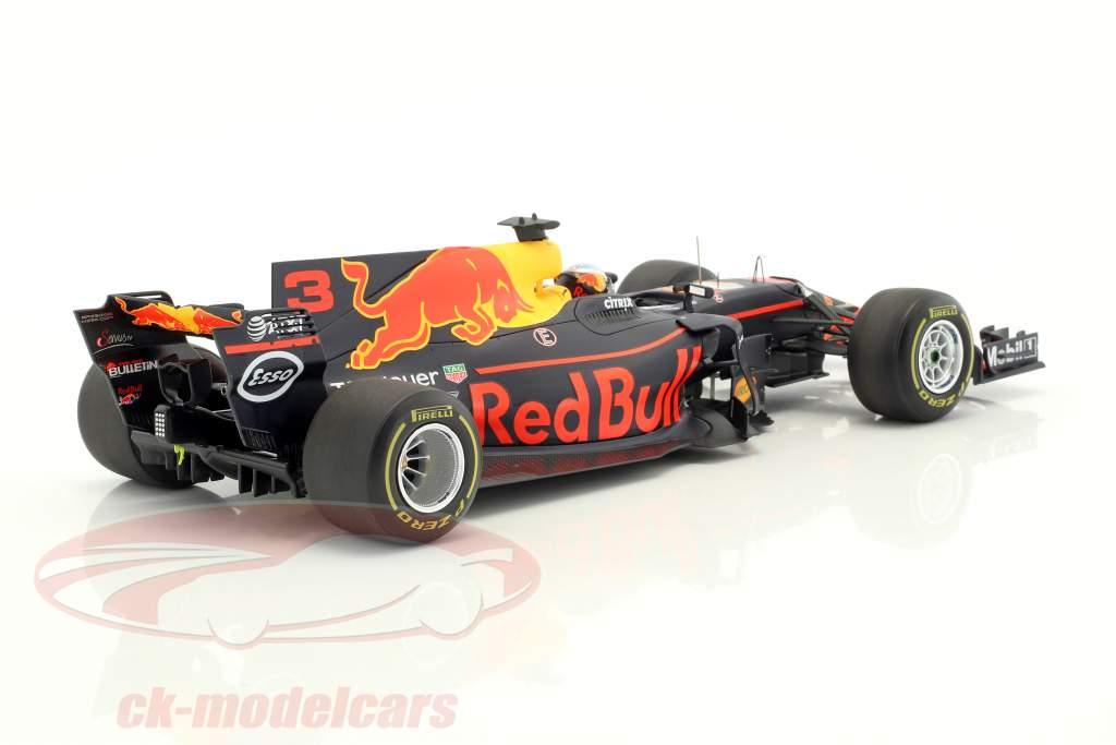 Daniel Ricciardo Red Bull RB13 #3 3 ° Spagna GP formula 1 2017 1:18 Spark