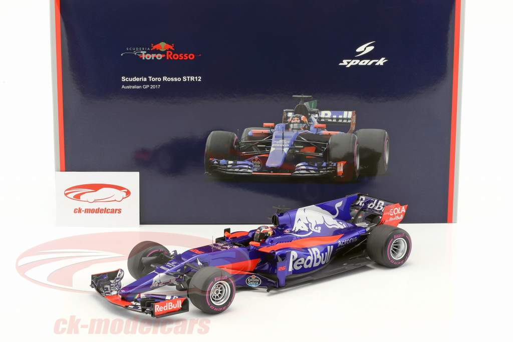 Daniil Kvyat Toro Rosso STR12 #26 Australia GP formula 1 2017 1:18 Spark