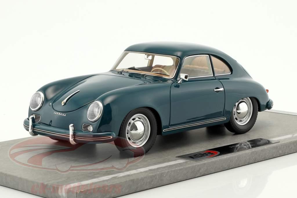 Porsche 356A année de construction 1955 vert 1:18 BBR