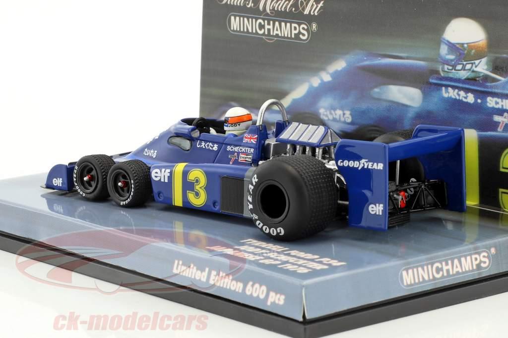 Jody Scheckter Tyrrell P34 #3 japanese GP formula 1 1976 1:43 Minichamps