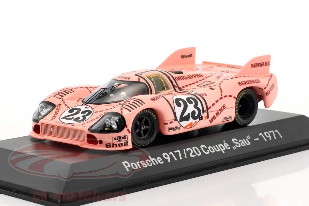 Porsche 917/20 truie / Pink Pig #23 24h LeMans 1971 Kauhsen, Joest 1:43 Spark