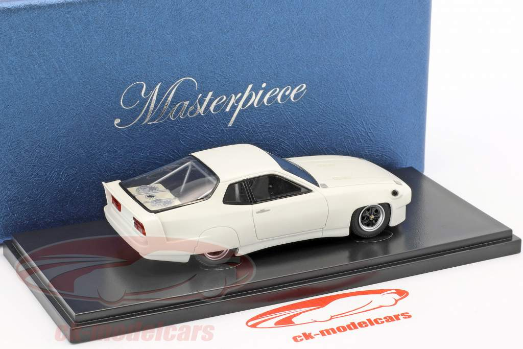 Porsche 924 World Record Car 1976/1977 White 1:43 AutoCult