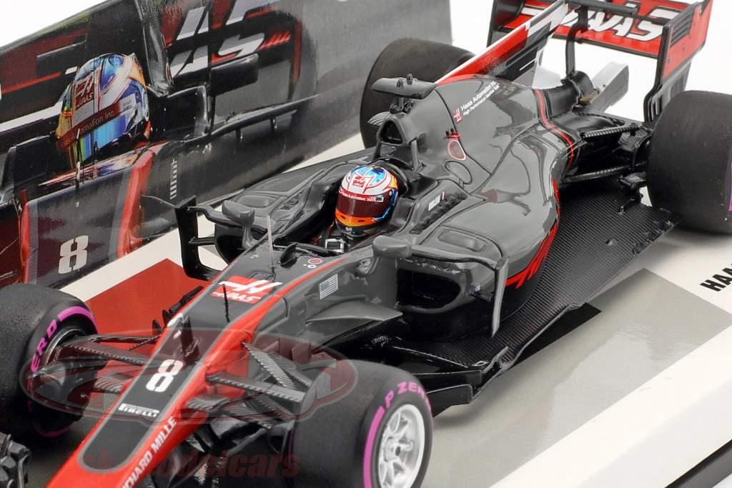 Romain Grosjean Haas VF-17 #8 Australie GP formule 1 2017 1:43 Minichamps