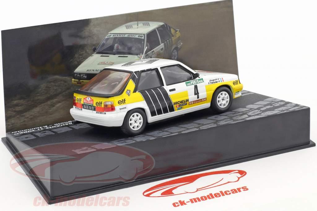 Renault R11 Turbo #4 2nd Rallye Portugal 1987 Ragnotti, Thimonier 1:43 Altaya