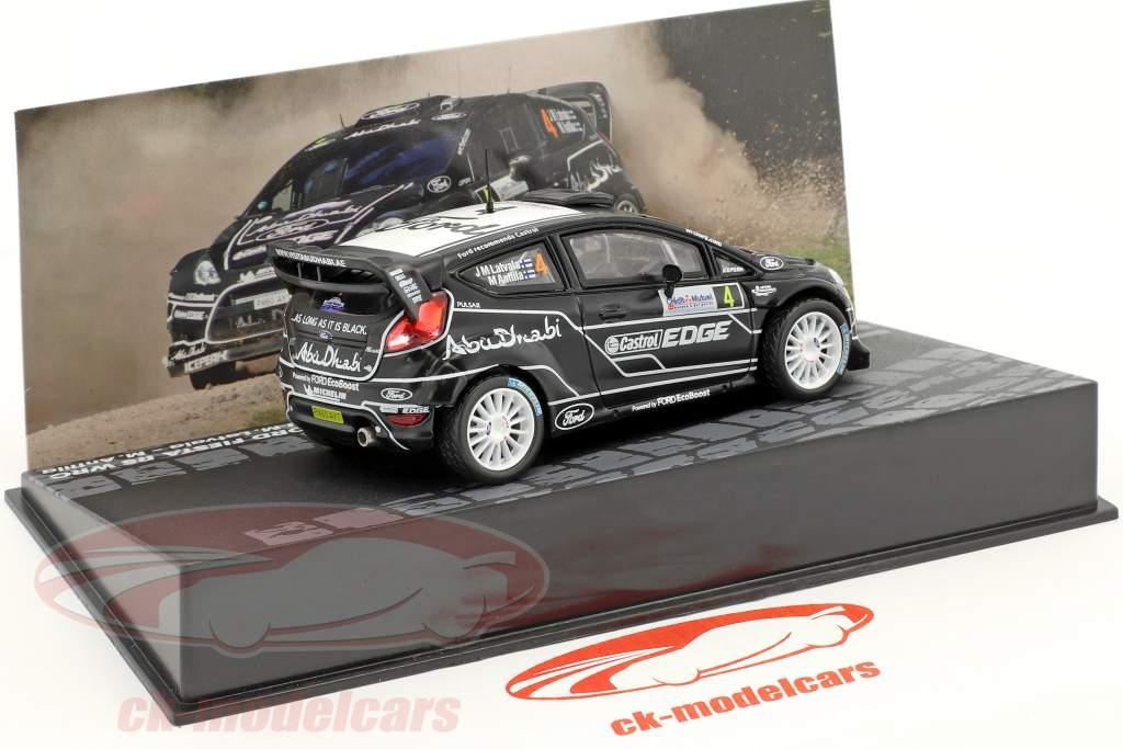 Ford Fiesta RS WRC #4 4 Rallye France 2011 Latvala, Anttila 1:43 Altaya