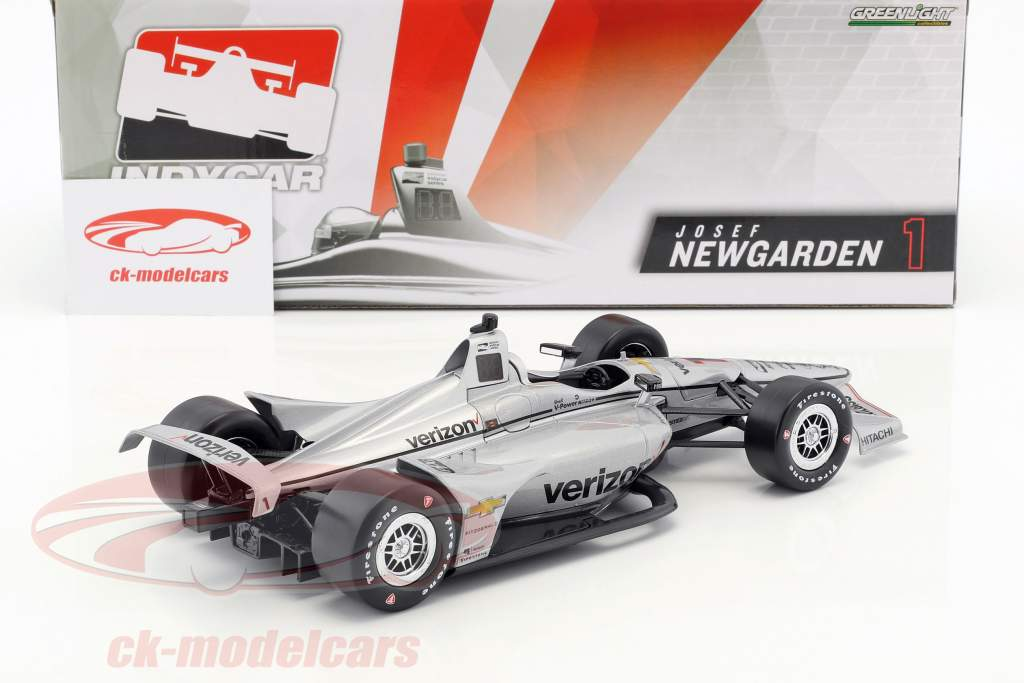 Josef Newgarden Chevrolet #1 IndyCar Series 2018 Team Penske (Verizon) 1:18 Greenlight